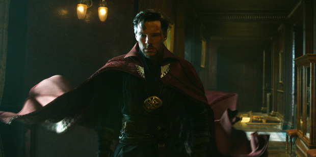 Loading Actor Benedict Cumberbatch stars in the new Marvel movie, Doctor Strange.