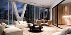 How the interior of a penthouse place at The International could look.