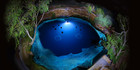 The Blue Hole, Santa Rosa, New Mexico. Photo / Supplied