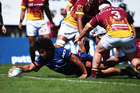 Tasman hooker Andrew Makalio. Photo / Photosport