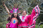 Ann Ortega (left) and Mayra Flores are excited to be sharing their culture. Picture / Jason Oxenham