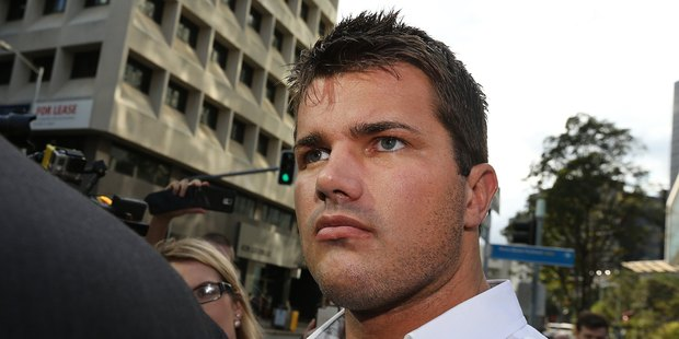 Gable Tostee pictured departing the Brisbane Supreme Court. Photo / News Corp