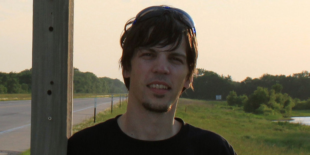 Marko Korosec in Chase, Kansas. Photo / Caters News Agency