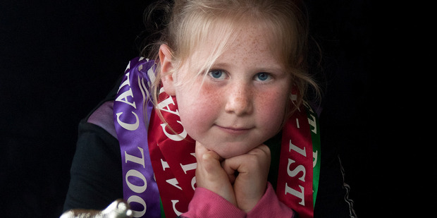 Ella Ensor's pet lamb died after being kicked by a boy at the Oropi School Calf Club. Photo/Andrew Warner