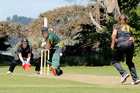 Jessica Watkin is now a senior member of the Central District Hinds, although she and her team mates struggled for runs against the Wellington Blaze at the weekend.