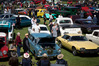 Car lovers came together at Mount Maunganui's Coronation Park at the weekend to look at vehicles old and new, classic and custom, at this year's Wheels on Mainstreet event. Photo/Andrew Warner