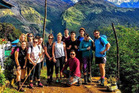 Rotorua students took in breathtaking views during their trip to Nepal.