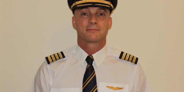 Richard Smith from New Zealand, an A380 pilot for Emirates.