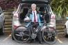 Tauranga Mayor Greg Brownless will be taking part in a Tour of Tauranga bike ride to raise money for the Bay of Plenty Multiple Sclerosis Society. Photo/John Borren
