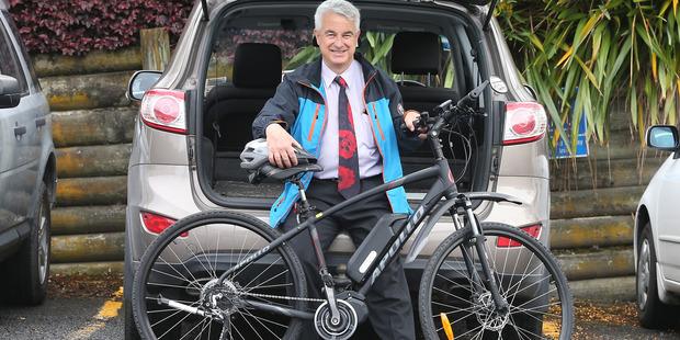 Loading Tauranga Mayor Greg Brownless will be taking part in a Tour of Tauranga bike ride to raise money for the Bay of Plenty Multiple Sclerosis Society. Photo/John Borren