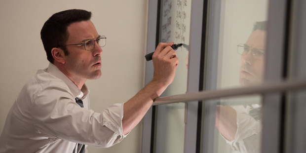 Ben Affleck stars in the film, The Accountant. Photo /  Warner Bros.