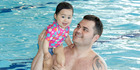 Auckland man Lucas Forsman and 14-month-old daughter Riley. Photo / Fraser Newman