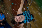 CLIMB: Tom Waldin showing off his skills at the National Championships. PHOTO/SUPPLIED