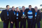 DEFENDING CHAMPS: BOP's winning Freyberg Masters team from last year. Left to right, Steve Heberley, Jason Madden, Bryan Pirani, Ross Fowler (manager), Blair Murdock, Darryn Lowans. Photo/Supplied