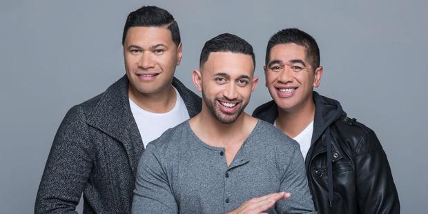 "TRIO: Rotorua's Ngahere ""Nuz"" Ngatai (centre) is one of the three who make up the Koi Boys. PHOTO/SUPPLIED"