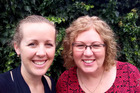 CHILLED OUT CHRISTMAS: Jenny Chapman and her mum, clinical psychologist Dr Rosemary Lyons, are teaming up for a workshop on reducing stress at Christmas. PHOTO/SUPPLED