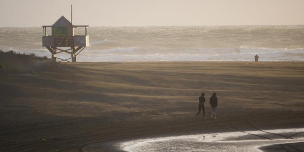 The man went missing near Bethells Beach. Photo / Steven McNicholl