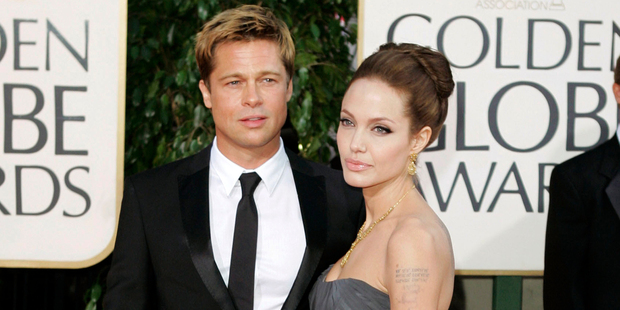 Brad Pitt and actress Angelina Jolie have filed for a divorce. Photo / AP