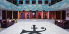 The atrium of Prince's Paisley Park studio compound in Chanhassen, Minnesota, which is being opened as a museum. Photo / AP