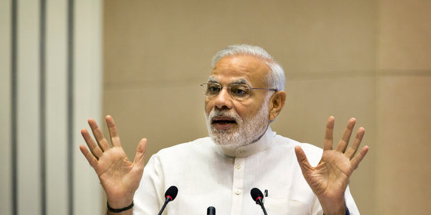 Indian admission to the nuclear club will be a key test of Prime Minister Narendra Modi's foreign policy leadership. Photo / AP