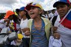 Women protest to demand a recall referendum against Venezuela's President Nicolas Maduro. Photo / AP