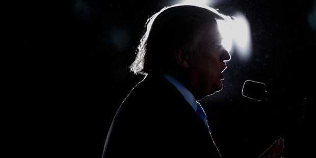 Republican presidential candidate Donald Trump has struck a chord. Photo / AP