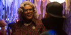 The popularity of Tyler Perry's film series, based on his Madea character,  helped deliver a strong first weekend for  Boo! A Madea Halloween.  Photo / AP