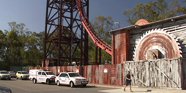 Loading Dreamworld was closed yesterday after four people died when their River Rapids ride went tragically wrong.  Photo / AP