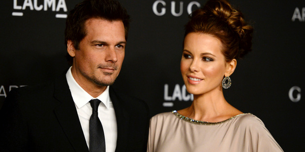 Len Wiseman and actress Kate Beckinsale are getting divorced. Photo / AP