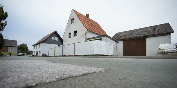The house in Hoexter, Germany. Photo / AP