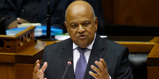 South African Finance Minister Pravin Gordhan is facing fraud charges. Photo / AP