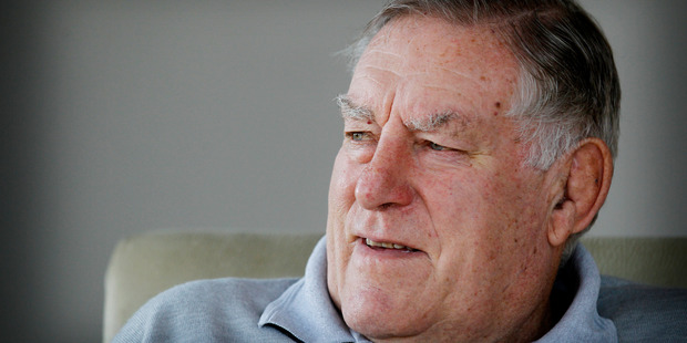Sir Colin Meads was diagnosed with pancreatic cancer in August. Photo / Christine Cornege