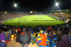 A packed Rotorua International Stadium meant an electric atmosphere when the Lions were last here in 2005. PHOTO/FILE