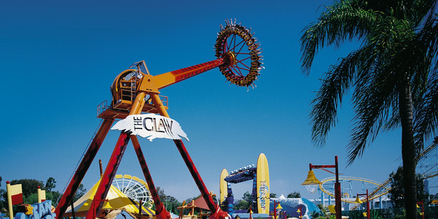 Loading The Claw ride at Dreamworld in Queensland. Photo / File