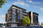 North Apartments exterior artist impression. Photo / Supplied