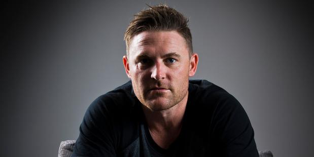 Former New Zealand cricket skipper Brendon McCullum is a shareholder in CricHQ. Photo Greg Bowker