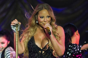 Singer Mariah Carey has ended her engagement with James Packer. Photo / Greg Bowker