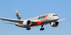 A Jetstar flight from Auckland, bound for the Gold Coast, was forced to return late this afternoon. Photo / File