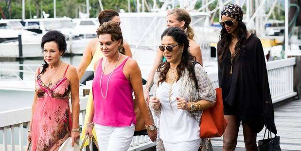 A trip to Port Douglas saw tempers flare on the Real Housewives of Auckland.