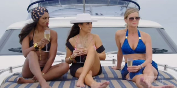 Loading Episode six saw tensions peak on the Real Housewives of Auckland - and also the ratings.