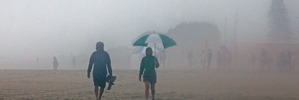 Rain marks end of Labour Weekend