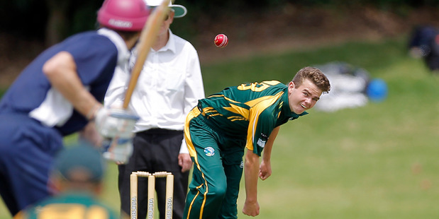 SEAM UP: Mount pace bowler Luke Tatley has good form heading into Sunday's game. PHOTO/FILE