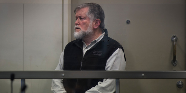 Dennis Dredge pictured at his sentencing in North Shore District Court in September 2015. Photo / Nick Reed