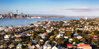 The average Auckland home is earning more in capital gain than a graduate teacher makes in wages and about the same as a police constable with five years' experience. Photo / Doug Sherring