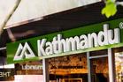 Christchurch's new Kathmandu store was ram-raided last night, police say.