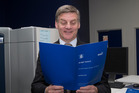 Finance Minister Bill English finds not all ministers are singing from the same song book when it comes to plans for the Government's surplus. Photo / Mark Mitchell.