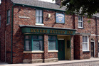 A longtime Coronation Street fan suffered a fatal heart attack while watching a