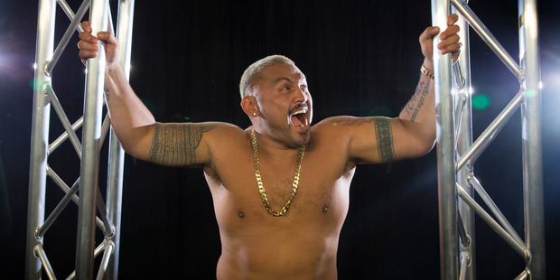 UFC heavyweight fighter, Mark Hunt. 29 July 2016 New Zealand Herald photograph by Nick Reed.