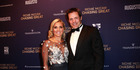 Richie McCaw and Gemma Flynn at the Chasing Great film premiere. Photo / Norrie Montgomery.