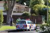 Police carrying out investigations on Willow Place, Whangarei, after gunshots were heard in December, 2014.